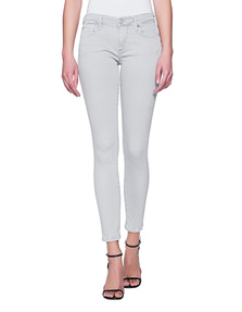 TRUE RELIGION Halle Crop Highrise Grey