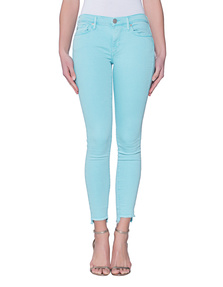 TRUE RELIGION Halle Crop Blue Radiance
