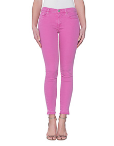 TRUE RELIGION Halle Crop Pink
