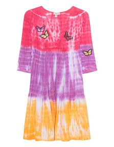 TRUE RELIGION Butterfly Dress Tangerine