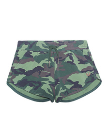 TRUE RELIGION Short Camouflage Dusty Olive