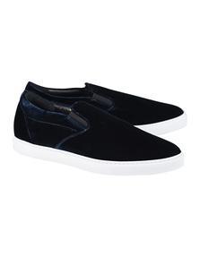DSQUARED2 Sneaker Velluto Blu