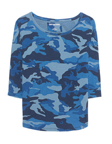 TRUE RELIGION Camouflage French Blue
