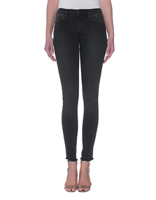 TRUE RELIGION Halle Superstretch Black Denim