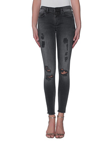 TRUE RELIGION Halle Black Denim