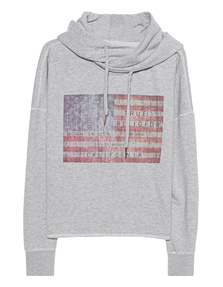 TRUE RELIGION American Flag Grey