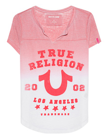 TRUE RELIGION Boxy Horseshoe Scarlet Red