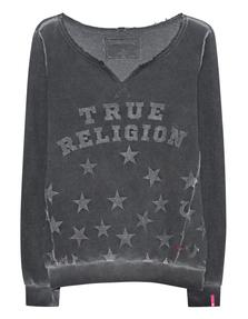 TRUE RELIGION RELAX STARS BLACK