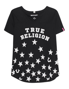 TRUE RELIGION STARS BLACK
