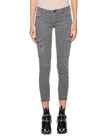 TRUE RELIGION Cargo Gabardine Grey