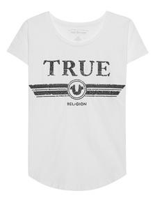 TRUE RELIGION Sequins White