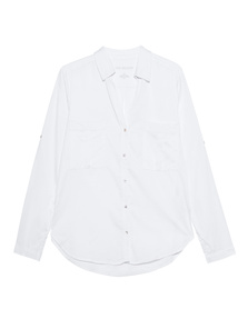 TRUE RELIGION Blouse Military White