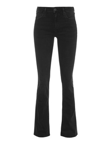 TRUE RELIGION Halle Bootleg Black