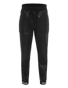TRUE RELIGION Jogging Pant Leather Black