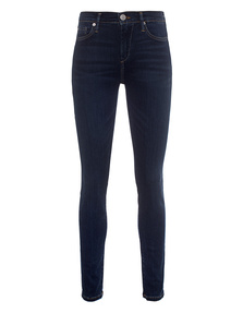 TRUE RELIGION Halle Highrise Blue