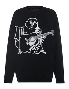 TRUE RELIGION Fleece Buddha Black