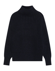 TRUE RELIGION Turtle Neck Navy