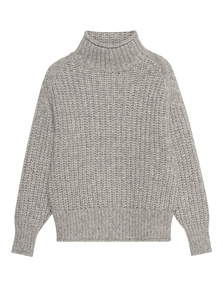 TRUE RELIGION Turtle Neck Light Grey