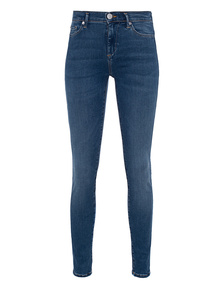 TRUE RELIGION Halle Highrise Trueflex Blue