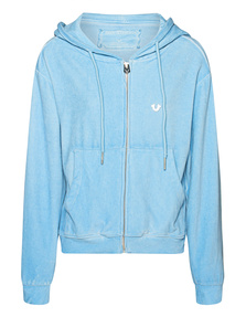 TRUE RELIGION ZIPPER CLASSIC POWDERBLUE
