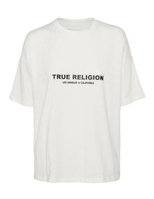 TRUE RELIGION Oversized White