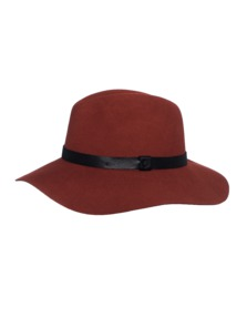 RAG&BONE Wide Brim Burnt Orange