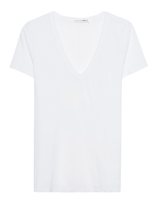 RAG&BONE The Vee Heather White