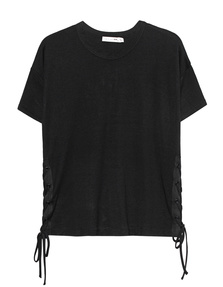 RAG&BONE Lace Up Black