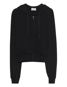 Cotton Citizen Milan Zip Jet Black