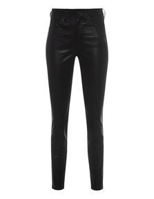 RAG&BONE Leather Eina HR Ankle Black