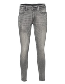 TRUE RELIGION Halle Super Skinny Grey Haze Clean