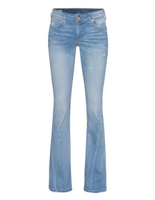 TRUE RELIGION Joey Low Rise Flare Sea Glass