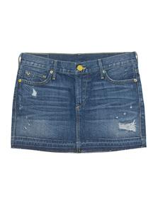 TRUE RELIGION Alexia Mini Skirt Vintage RLG