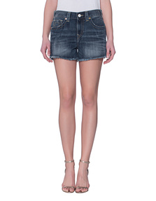 TRUE RELIGION Kori High Rise Boyfriend Oceana Blue
