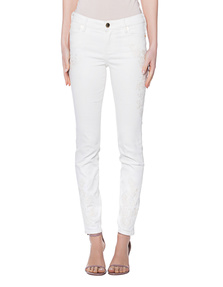 TRUE RELIGION Halle Shiny Off White