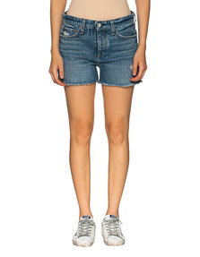 RAG&BONE Shorts Destroyed Blue