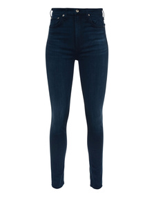RAG&BONE Nina High Rise Skinny Dark Blue