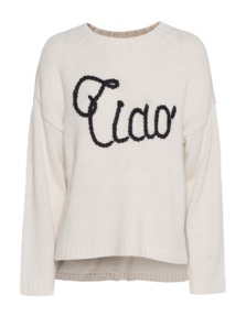 WILDFOX Ciao Bella Dinner Party Cream Vintage Lace