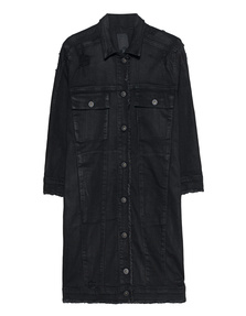 THOM KROM Long Denim Black