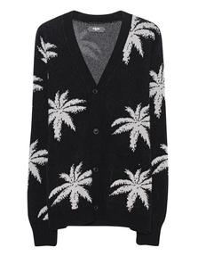 Amiri Palm Knit Black White