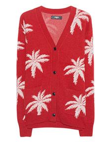 Amiri Palm Knit Red