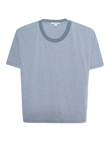 JAMES PERSE Cropped Boxy Blue