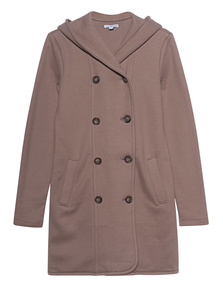 JAMES PERSE Hood Coat Beige