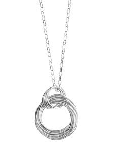 BRONZALLURE Shiny Round Silver