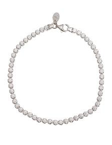 BRONZALLURE Tennis Sparkle Silver White