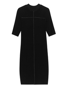 THOM KROM Rounded Neck Black