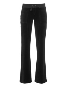 JUICY COUTURE Bling Bootcut Pitch Black