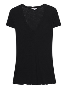 JAMES PERSE V Neck Black