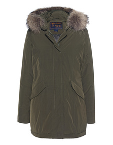 WOOLRICH Luxury Arctic Parka Olive