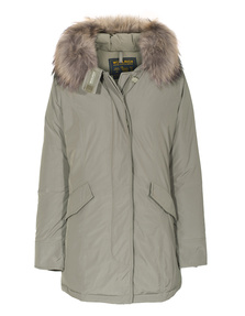 WOOLRICH Luxury Arctic Parka Taupe